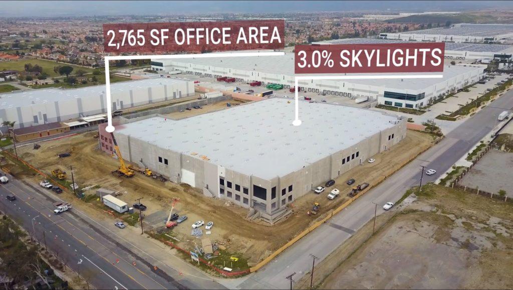 industrial real estate virtual sales tour VFX