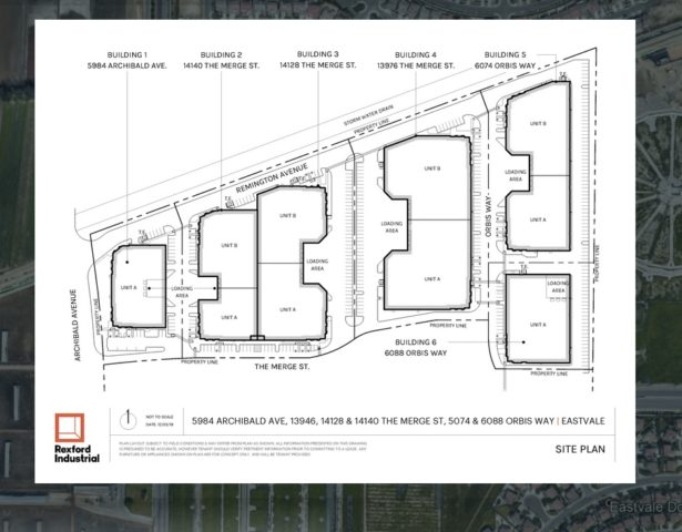the Merge Eastvale Property Map Image