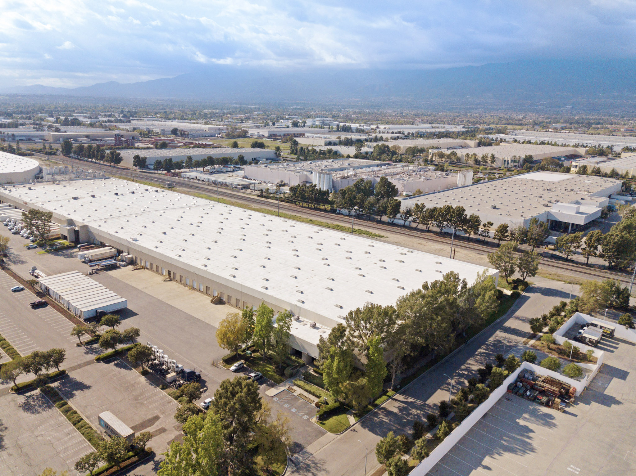 Industrial property exterior image