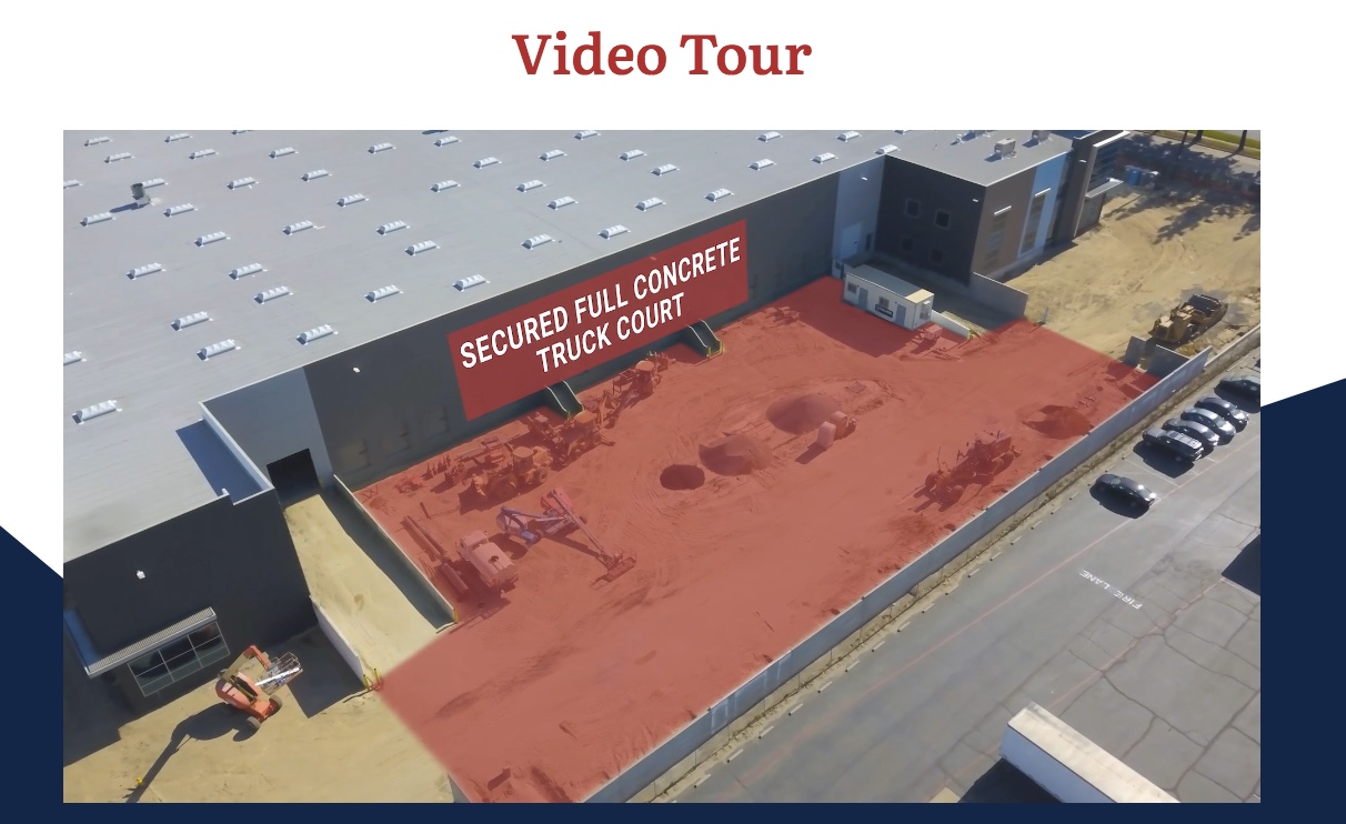 drone image in virtual tour