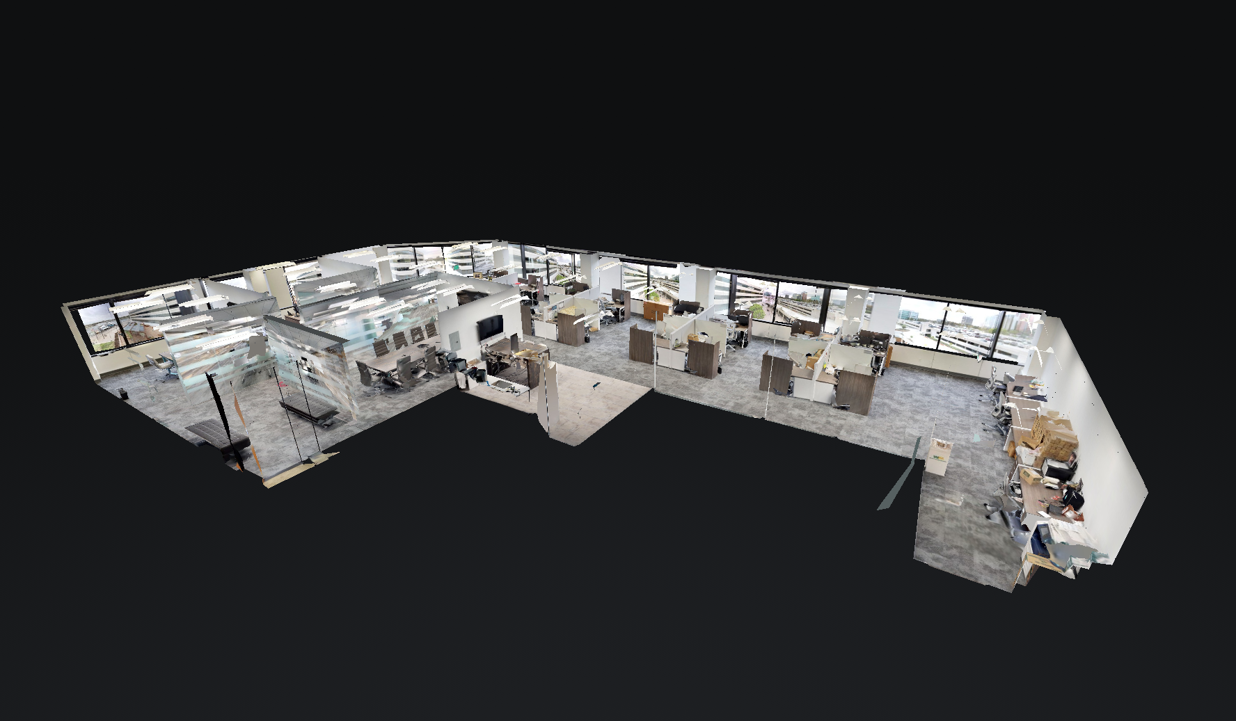 commercial media services include 360 walk through (3D) tours