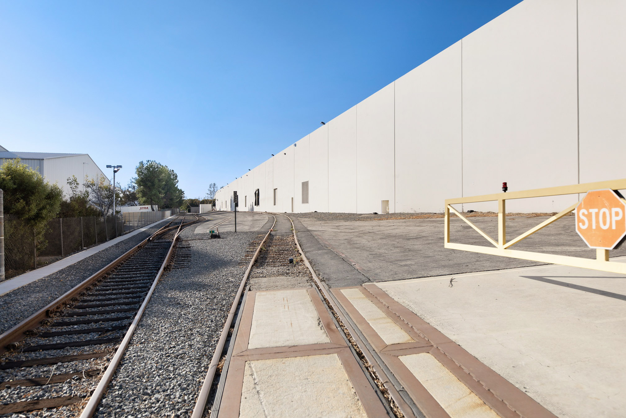 industrial real estate ground photography